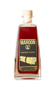 cinnamon cocktail maroon spice boisson caribbean caraïbes racine rhum épicé authentique