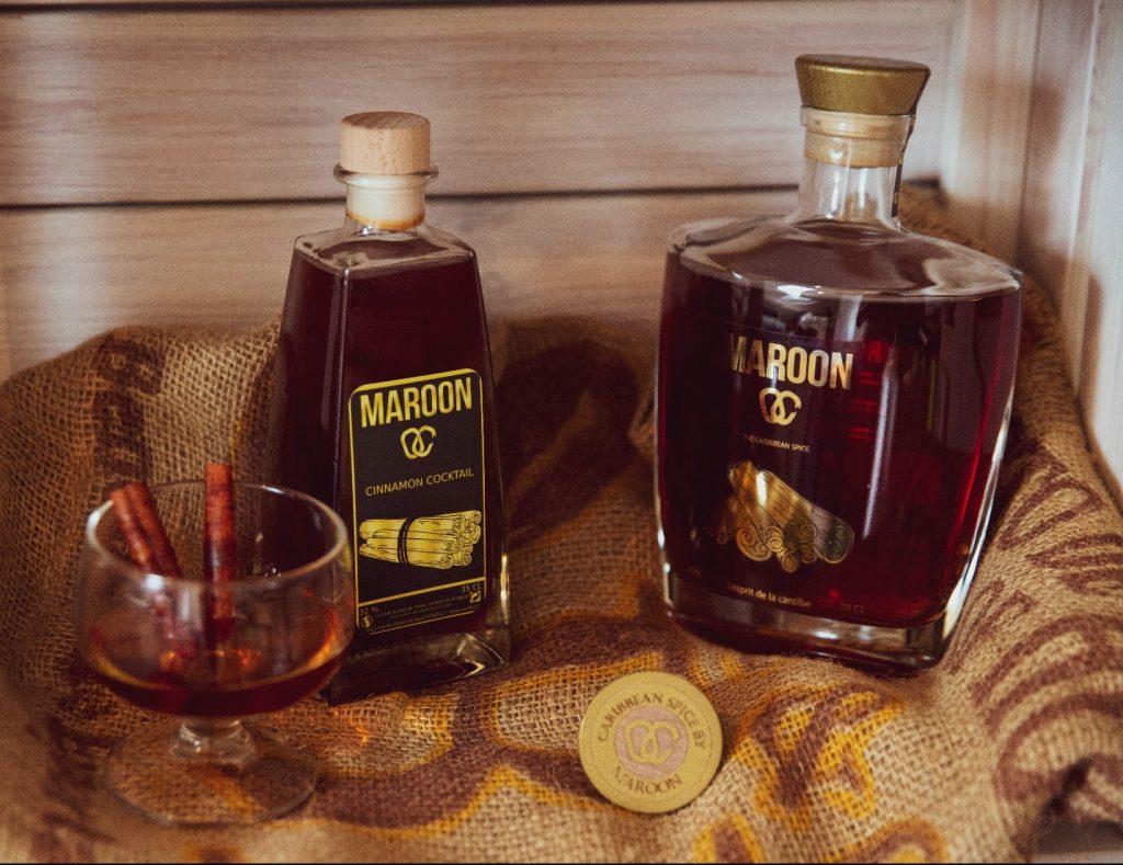 maroon spice boisson caribbean caraïbes spiritueux rhum épicé authentique racine cannelle