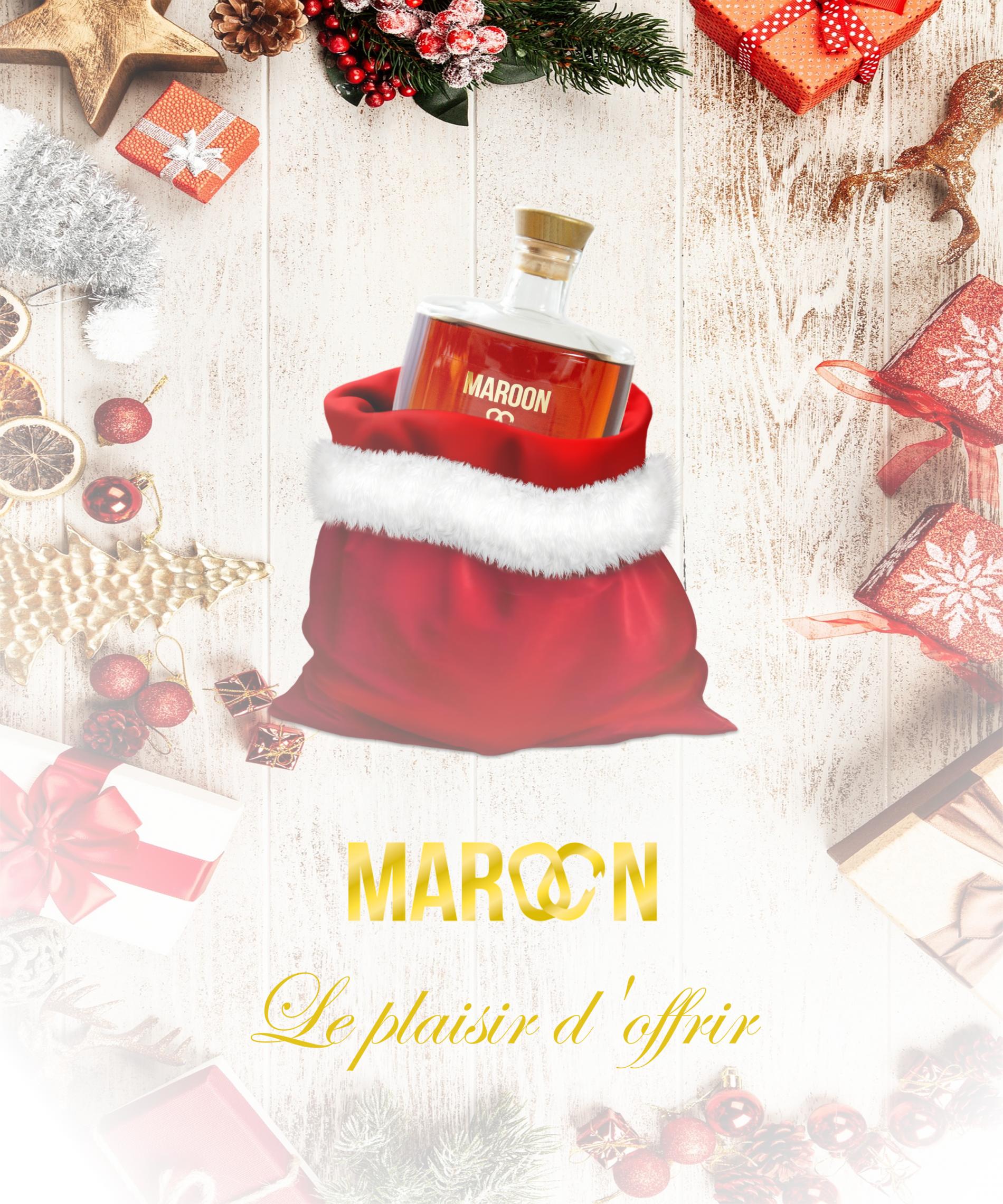Maroon Noël Fête Spiritueux caribbean rhum