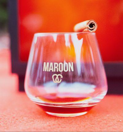 verre tumbler maroon caribbean spice caraïbes rhum épicé authentique racine